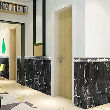 DIY Marmor Adern Wand Fliesen Aufkleber Abnehmbare selbstklebende ...