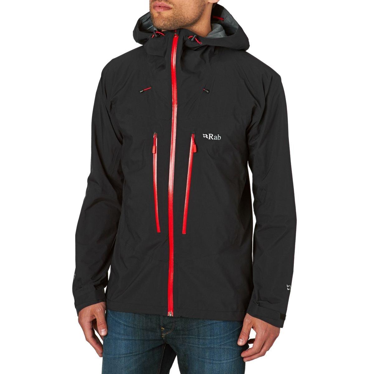 Rabジャケット – Rab Spark Jacket – ブラック B01BN16S7S X-Large|ブラック ブラック X-Large