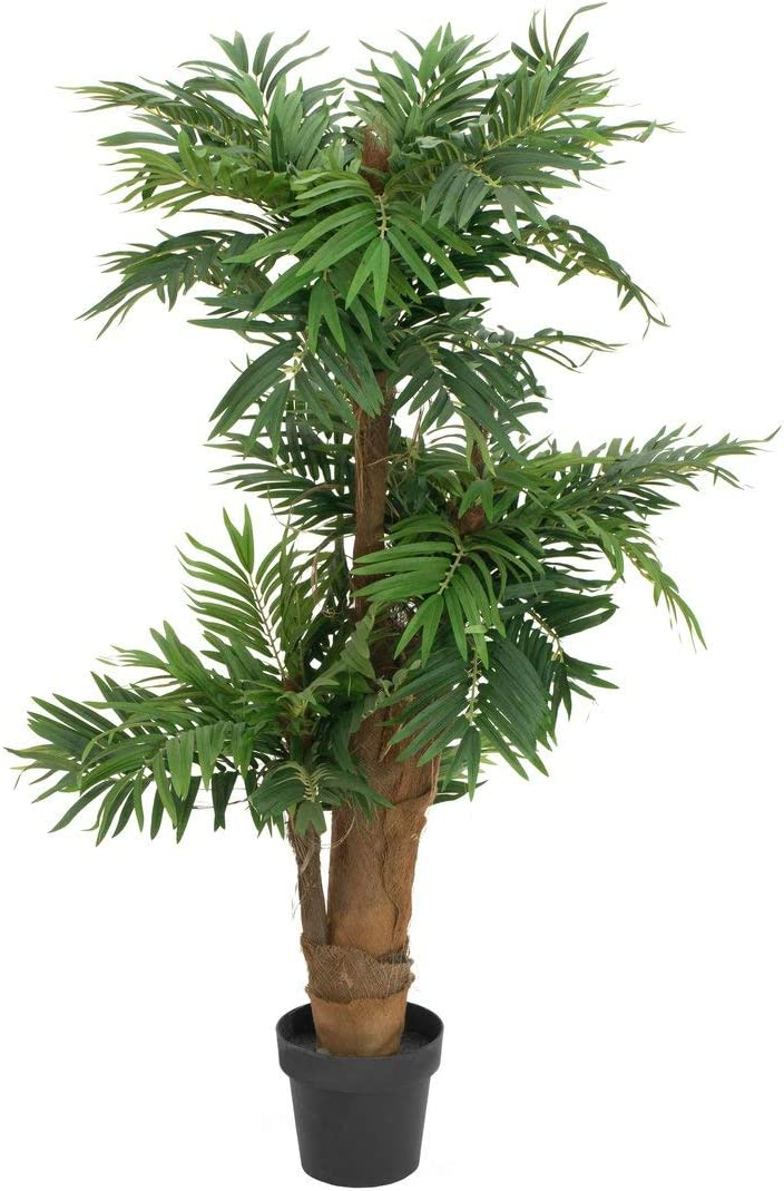EUROPALMS Areca Palm Artificial Plant 140cm