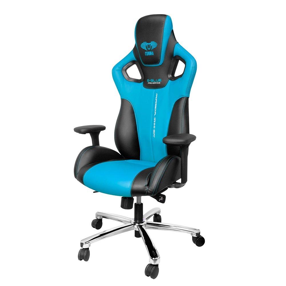 E-BLUE Gaming Chair, Cobra, Blue