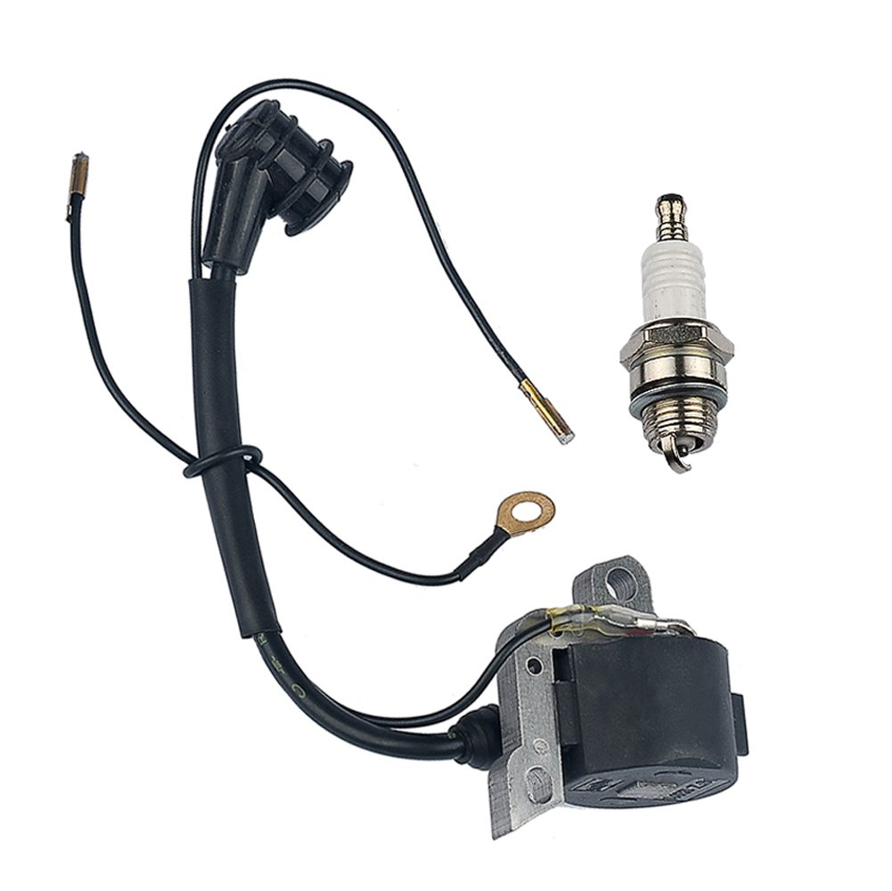 HIPA Ignition Coil with Spark Plug for STIHL 024 026 028 029 034 036 038 039 044 048 MS240 MS260 MS290 MS310 MS360 MS360C MS390 MS440 MS640 Chainsaw by HIPA
