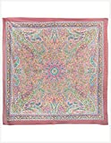 Fashionable Cotton Scarf - Indian Paisley Print - Hippie Style