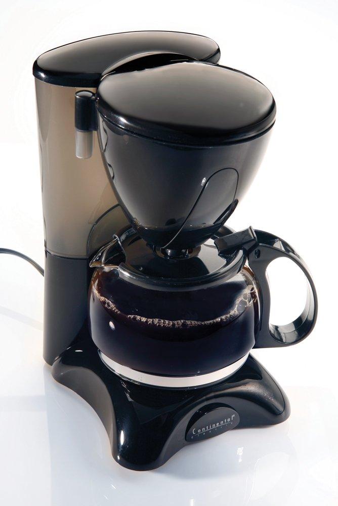 春先取りの Continental Electric CE23589 4 Cup Coffee Coffee Cup Maker-black by Continental Continental Electrics B0012RBYS2, 家づくりと工具のお店 家ファン!:e3147206 --- staging.aidandore.com