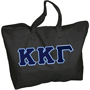 1fecf25c3 Amazon.com  Kappa Kappa Gamma Lettered Tote Bag Black  Greekgear