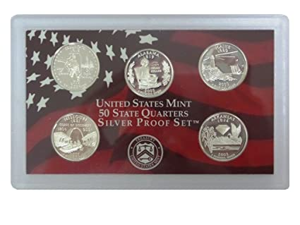 2003-S SILVER PROOF SET WITH BOX AND COA!!