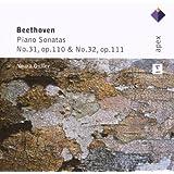 Pno Sonatas 31 & 32