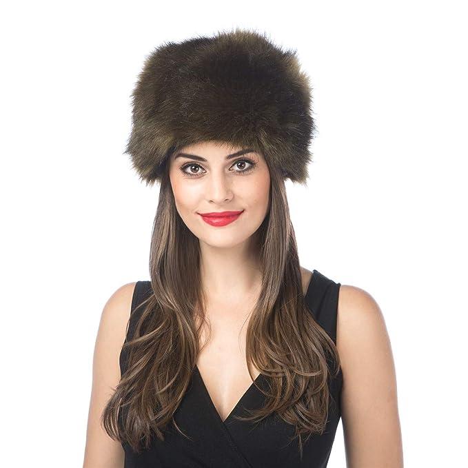 340ae81f9bb6f Lucky Leaf Women Men Winter Thick Fur Russian Hat Warm Soft Earmuff (H1-Army