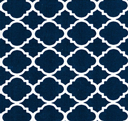 Baby Doll Bedding Soho Fitted Crib Sheet, Navy - Soho Fitted Sheet