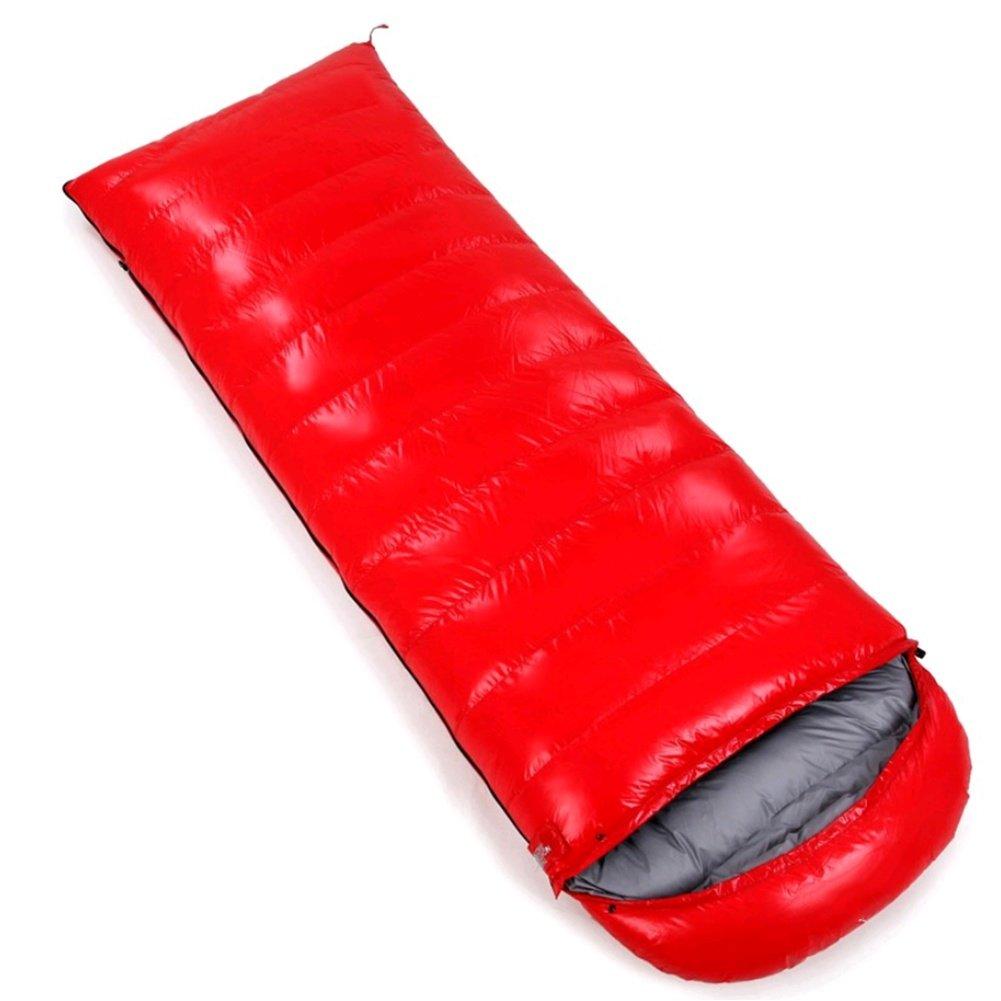 SHUIDAI Umschlag-Stil mit Kapuze Daunenschlafsack Erwachsene Mittagspause Umschlag Umschlag Umschlag Schlafsack Outdoor Camping Schlafsack B07CR5VCL2 Mumienschlafscke Zuverlässige Qualität 625c70
