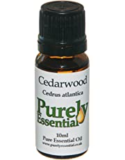 Purely Essential Cedarwood Oil Certified 100% Pure. 10ml