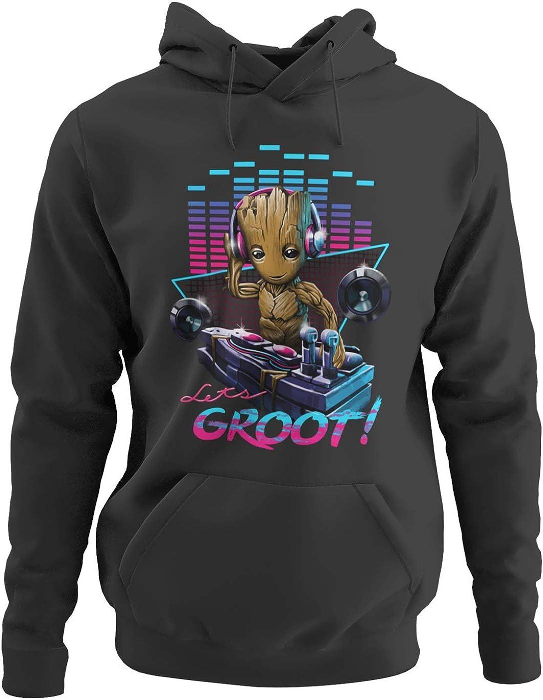 Groot Pullover Kinder Anzug Outfit beil/äufige Jungen und M/ädchen Herbst und Winter Trend Mode Sport und Freizeit Wild Style Junge und M/ädchen