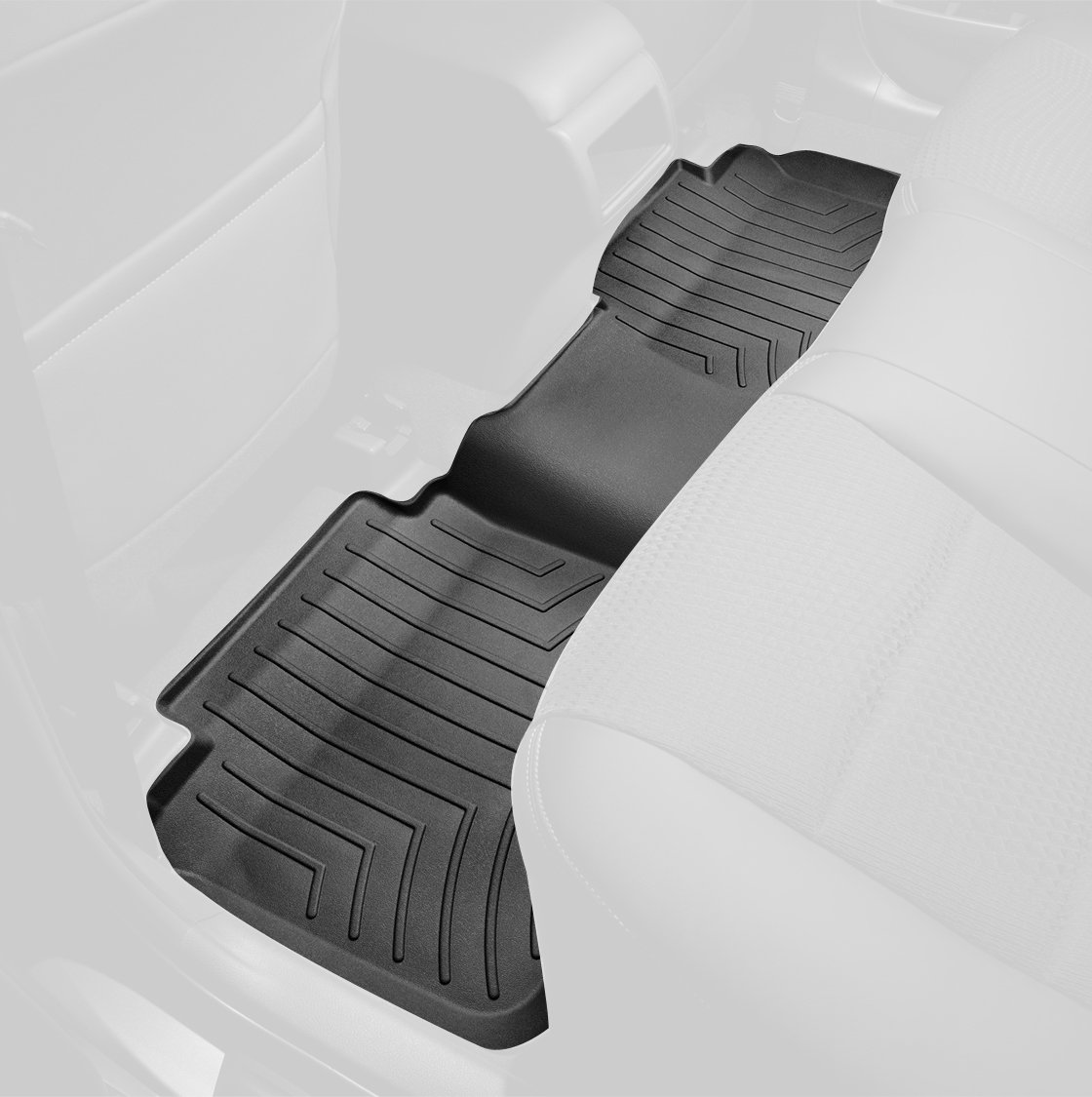 Weathertech mats vancouver - Weathertech Custom Fit Rear Floorliner For Select Chevrolet Gmc Models Black