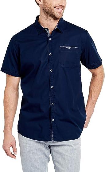 Pioneer Shirt SS Solid Camisa para Hombre: Amazon.es: Ropa y accesorios