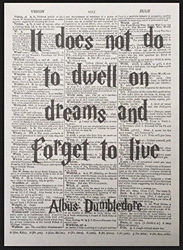 Amazon Com Albus Dumbledore Quote Harry Potter Vintage