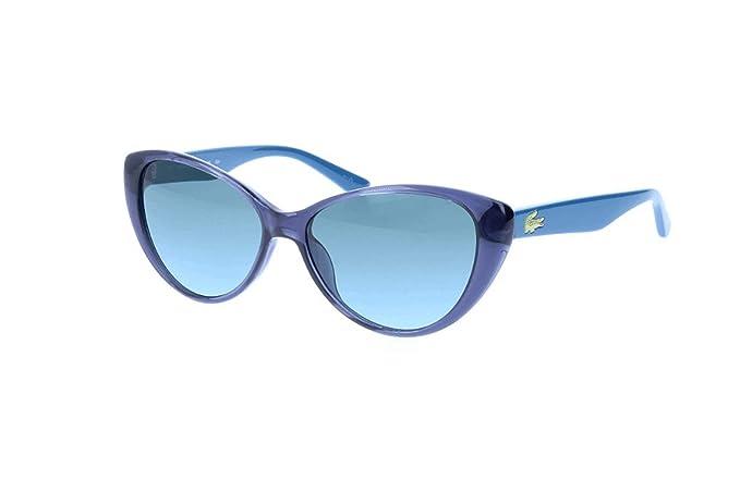 Lacoste Butterfly Eye Gafas de sol, Azul (Blau), 50.0 para ...