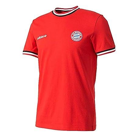 adidas Hombre Playera FC Bayern Camisetas Roja, XS: Amazon.es: Deportes y aire libre