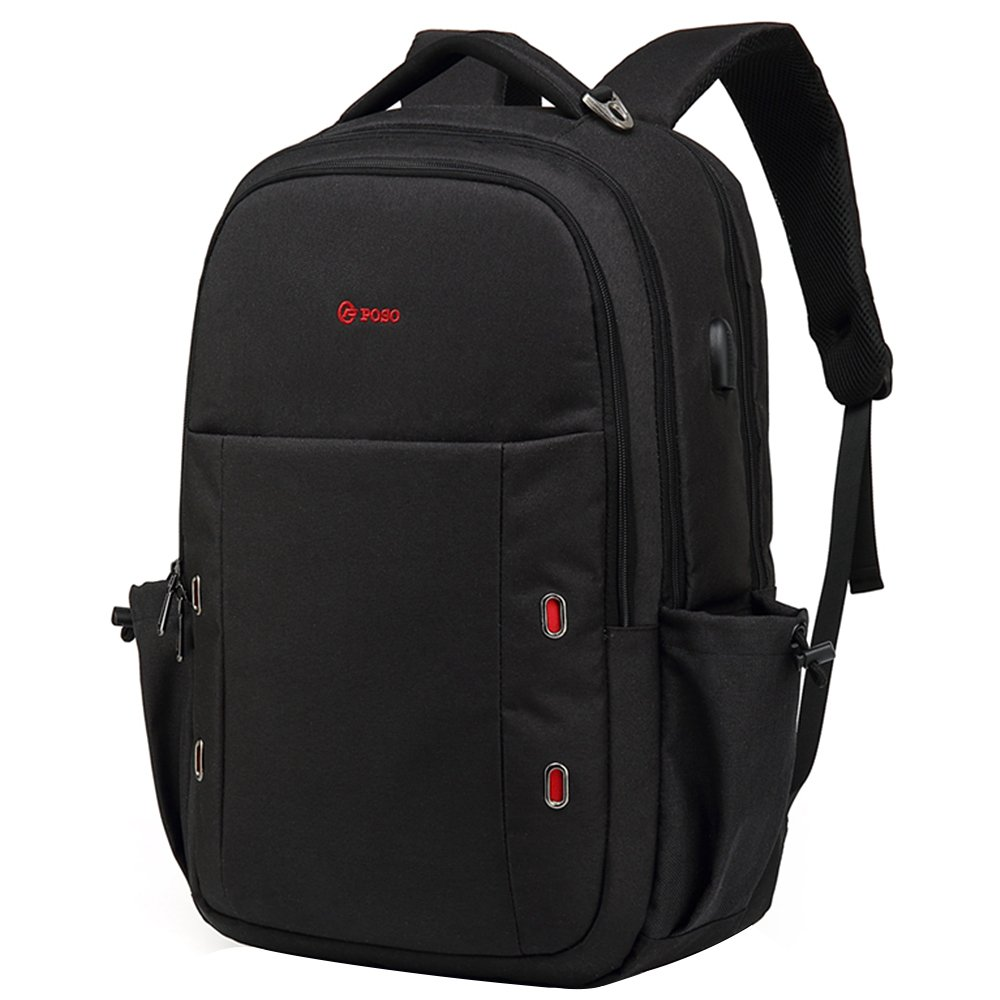 b6ae678f906 durable service Srotek Travel Laptop Backpack Water Resistant Business  Computer School Bag Backpack with USB Charging