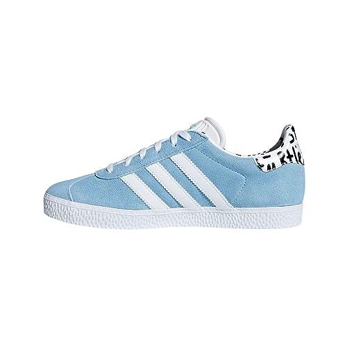 adidas Gazelle J, Zapatillas de Deporte Unisex Adulto, Azul Ftwbla/Azucla 0,