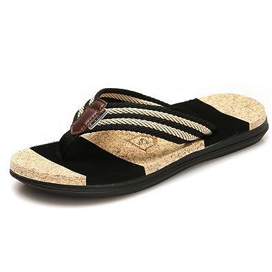 Hishoes Unisex Zehentrenner Flip Flops Sandalen Sommer Schuhe Aus Gummi Ultra Weich Rutschfest Strand Pantoletten YnjhpOus