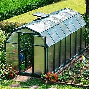 Invernadero First Class 37 Incluye Base con cimientos Marco: Amazon.es: Jardín