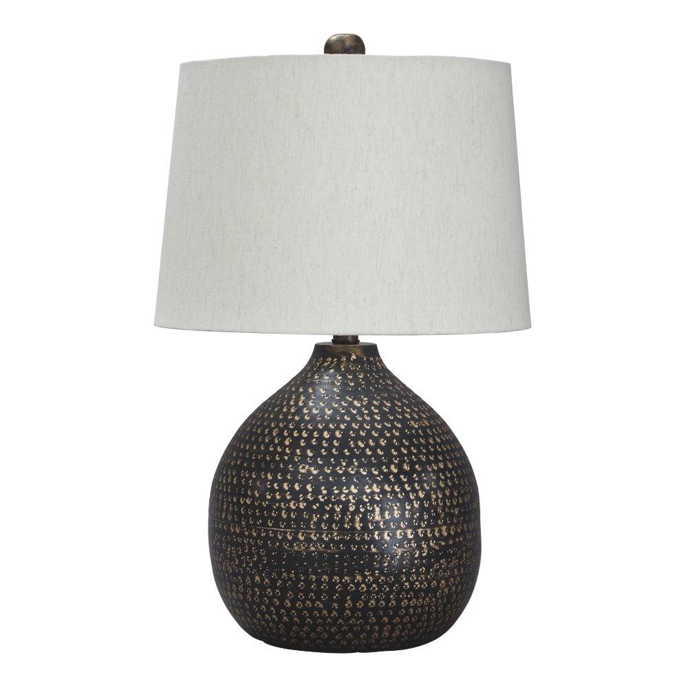 Merveilleux Ashley Furniture Signature Design   Maire Metal Table Lamp   Contemporary    Black/Gold Finish     Amazon.com