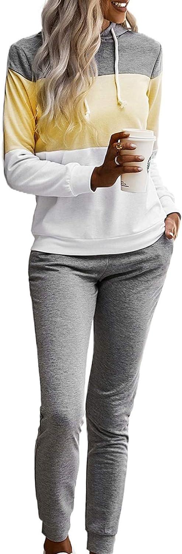 Womens 3PCS Long Sleeve Tracksuits Set Ladies Joggers Active Sport Loungewear US