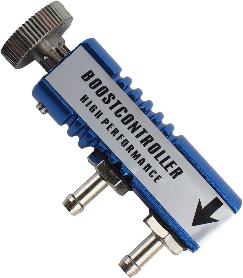 Regolabile 1-30 PSI Racing Turbo Manuale MT Turbo//turbocompressore Kit di controllo boost Regolatore di pressione turbo Accessori auto colore: blu