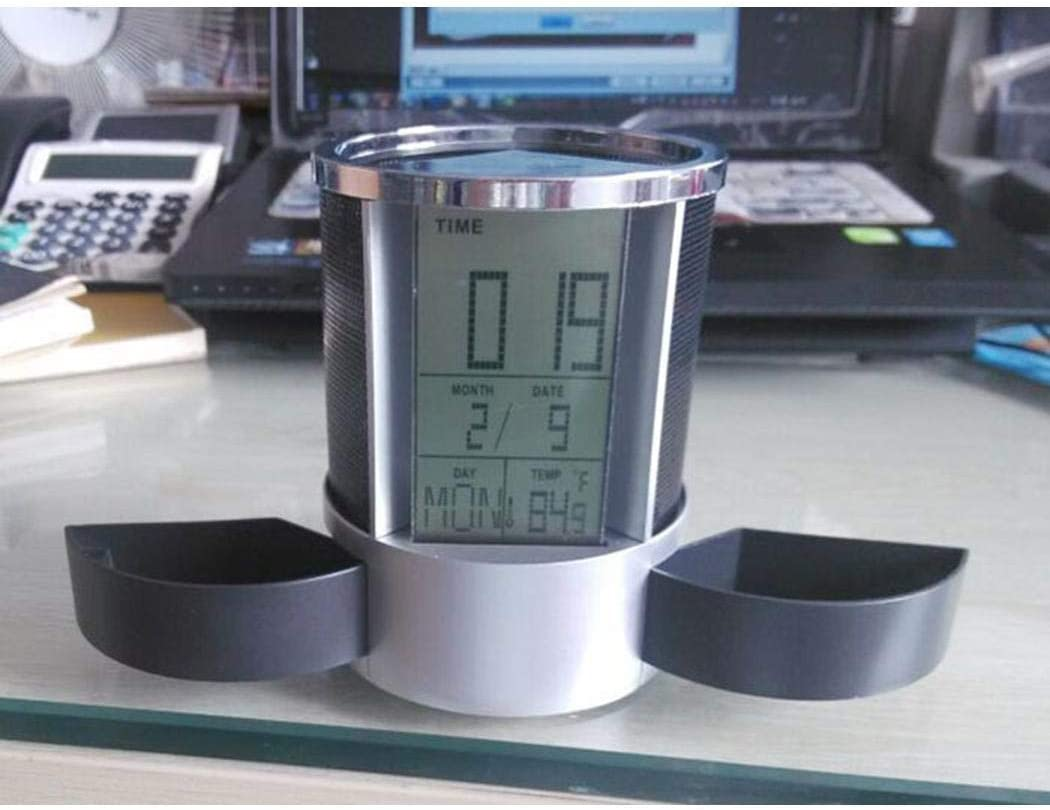 Oldhorse Portamatite con Display Digitale Multifunzione Raccoglitori e Accessori per raccoglitori
