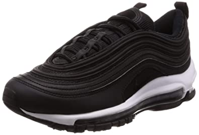 timeless design 4279f 4d22d Nike Womens Air Max 97 Textile Black Trainers 6.5 US