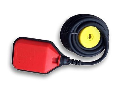 Interruptor de flotador Interruptor de nivel Interruptor de conmutación Cable: 10m 250V 16A
