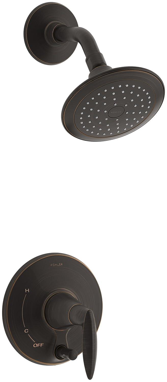 KOHLER T45108-4-2BZ Alteo Shower Trim with Push-Button Diverter, Oil ...