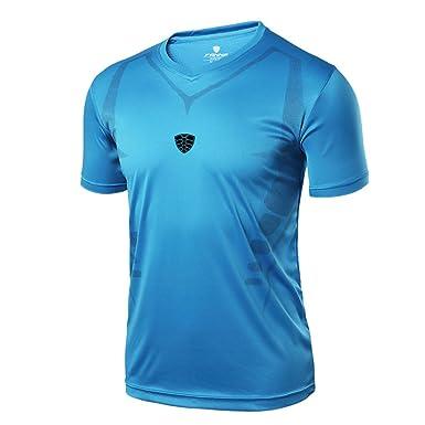 80 Halten Sie Die Ganze Zeit Fit Kleidung & Accessoires T-shirt Hellblau Gr