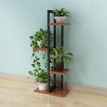 5-Layer Floor-Standing Potted Plant Display Stand Indoor//Outdoor Flower Pot Storage Rack Bracket XIZ Home Wrought Iron Bedroom Flower Stand