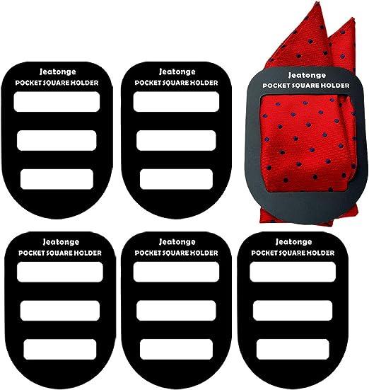 Pocket Square Holder Keeper Organizer Pocket Squares for Men Prefolded