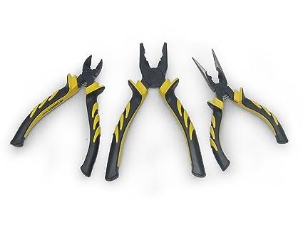 NRG Clever® SPBY3P Herramienta de los alicates del kit y las tenazas. Alicates puntas