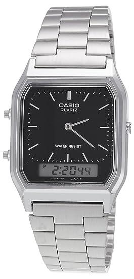 Casio reloj para hombre Digital y analógico de pulsera de ...
