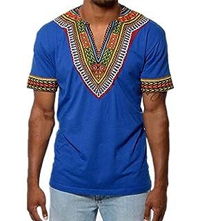 c920afd06ac6 Herren Sommer Kurzarm T-Shirt Bohemian T-Shirt Lässiges Sport T-Shirt  Outdoor