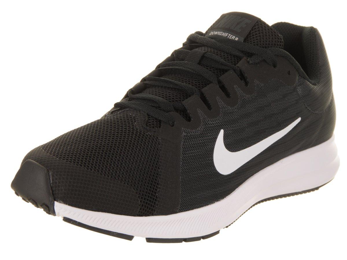 NIKE Kids Downshifter 8 (GS) Black/White/Anthracite Running Shoe 4.5 Kids US
