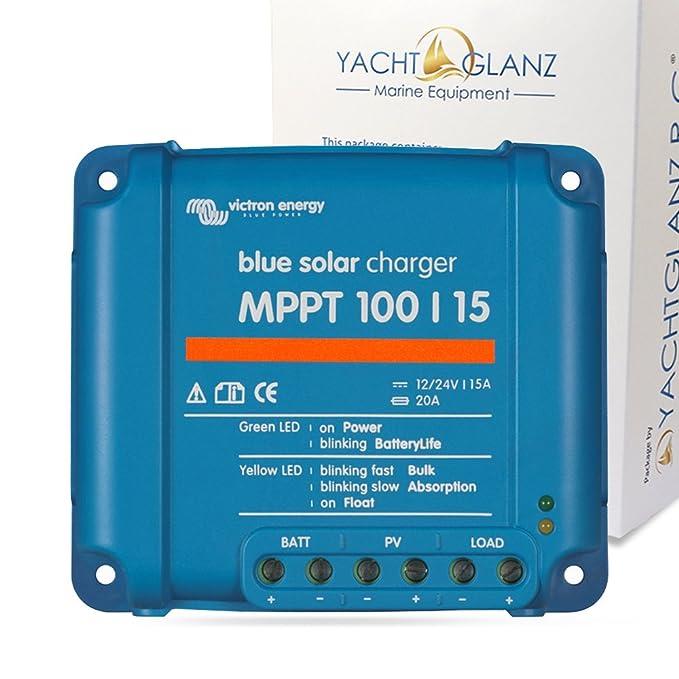 5 opinioni per Victron Energy, Bluesolar Mppt 75/10, 75/15 E 100/15 (Mppt 100/15), Regolatore