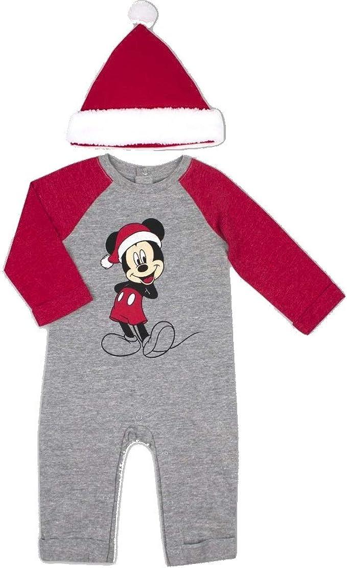 Disney Baby Boy 2-pc Mickey Mouse Valentine/'s Romper /& Bib Set 3-6 month