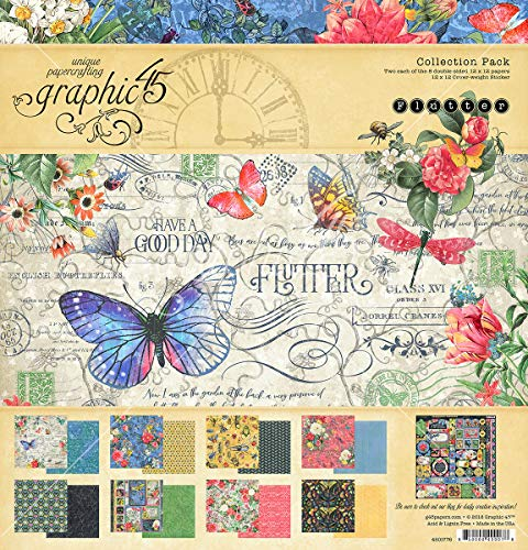 (Graphic 45 4501776 Fltr Collection Pack 12x12, None)