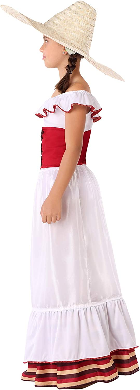 Atosa-60085 Atosa-60085-Disfraz Mejicana-Infantil Niña, Color ...