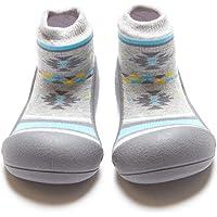 Attipas Nordic Baby Walker Shoes, Grey, Medium