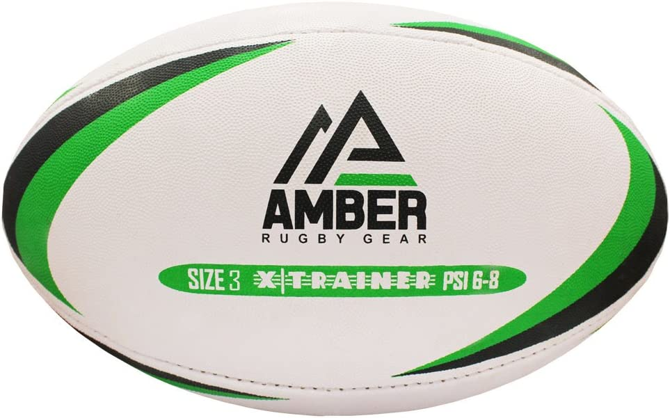 AMBER Sports Team Training Rugby Ball