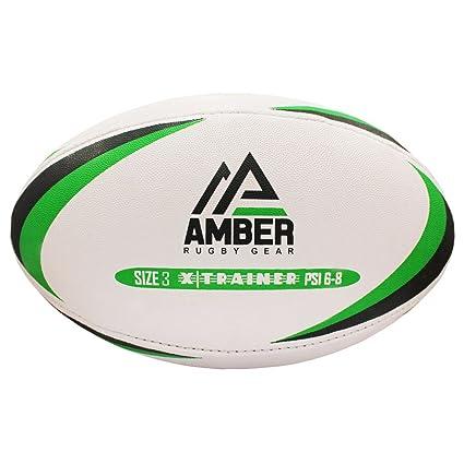 Nino Cerruti Ámbar Compuesto Pelota de Rugby: Amazon.es: Deportes ...