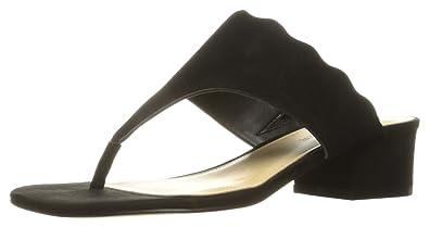 151495b5db6 Marc Fisher Women s VEVA Flat Sandal