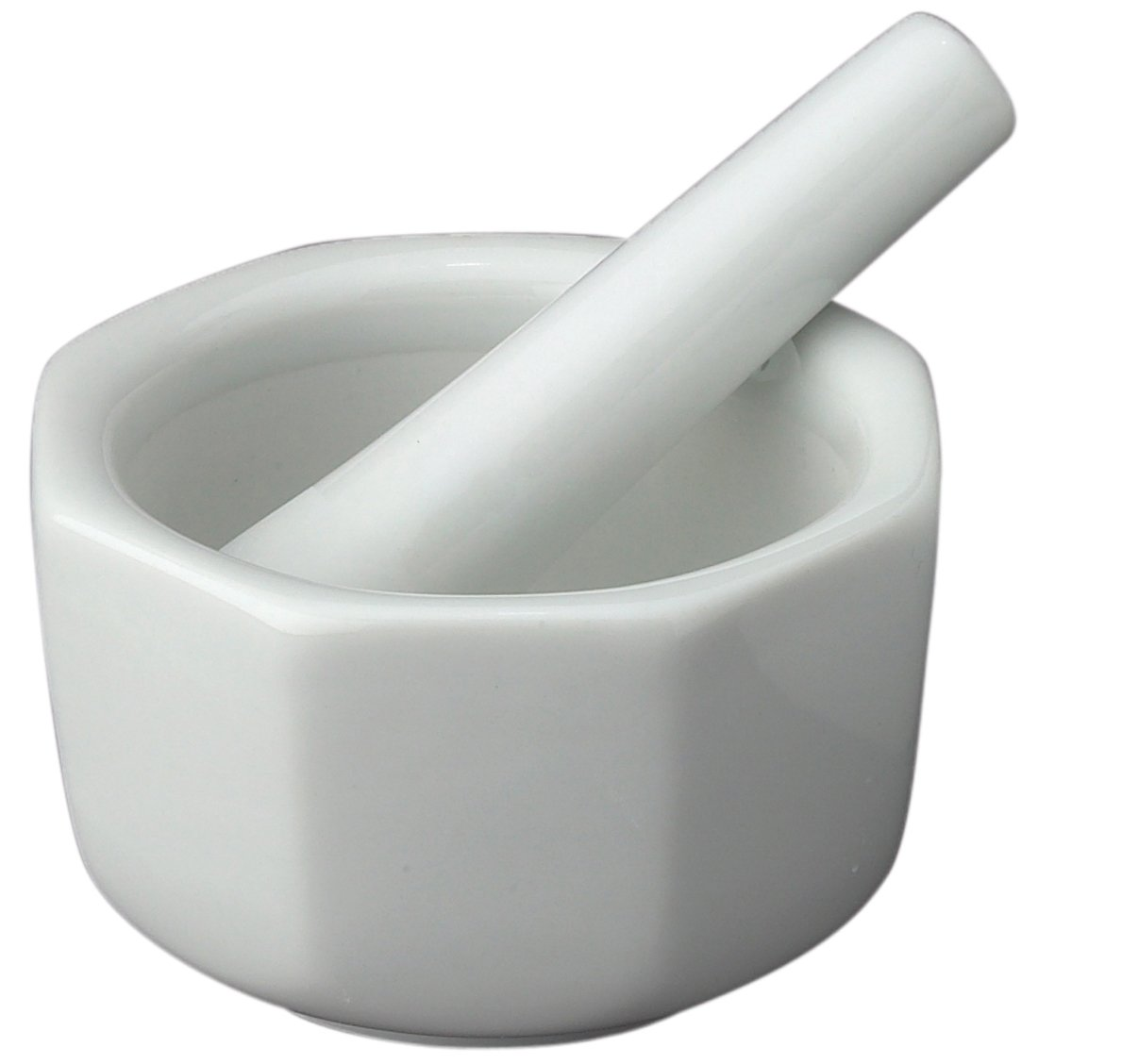 Amazon.com | HIC Octagonal Mortar and Pestle Spice Herb Grinder ... for Laboratory Mortar And Pestle  156eri