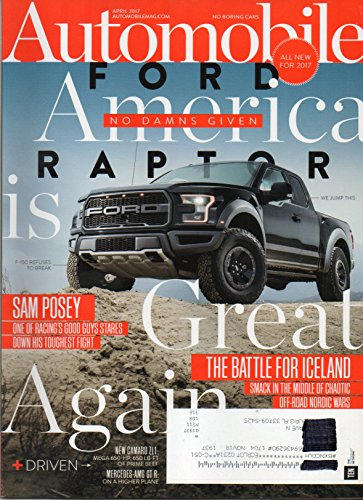 Pro 2017 Star Wheel - Automobile Magazine April 2017 | FORD Raptor is Great Again
