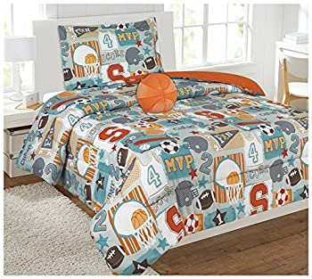 Empire Home fashion Kids 3 Piece Sports Champ Sheet Set Bed in Bag -Twin Size