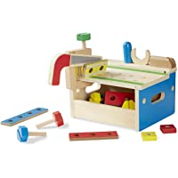 Melissa & Doug Hammer and Saw Tool Bench, Multi Color